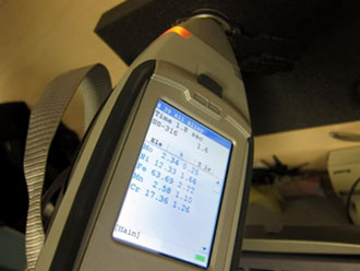 Niton xl3t Thermo analyzer