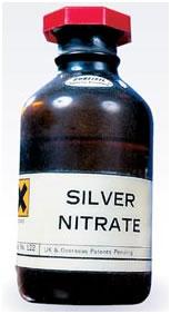 Ляпис – нитрат серебра